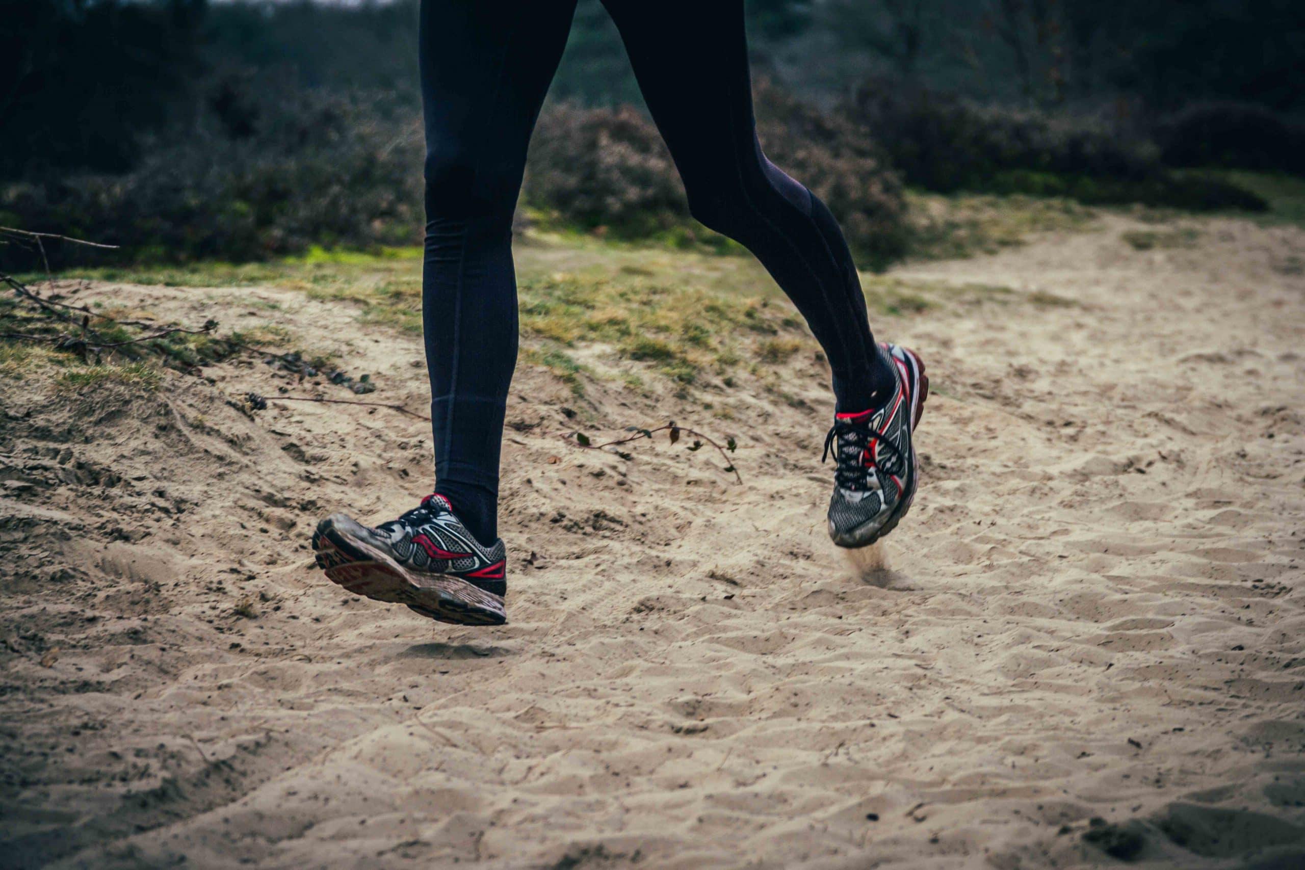 hardloopschoenen versleten