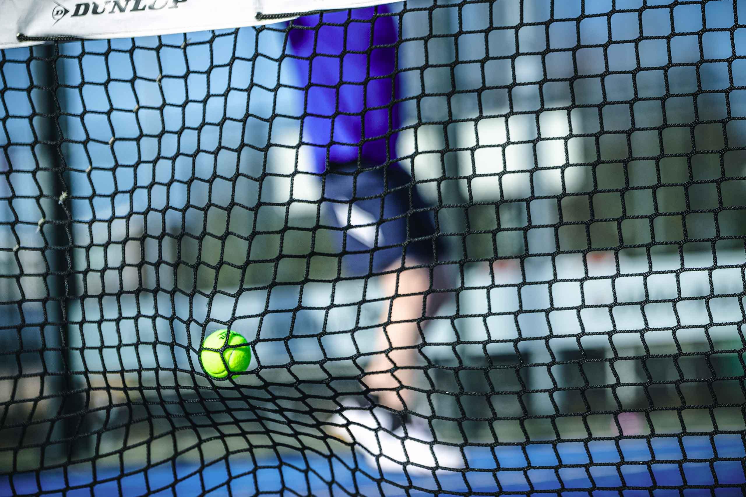 padelbal en tennisbal