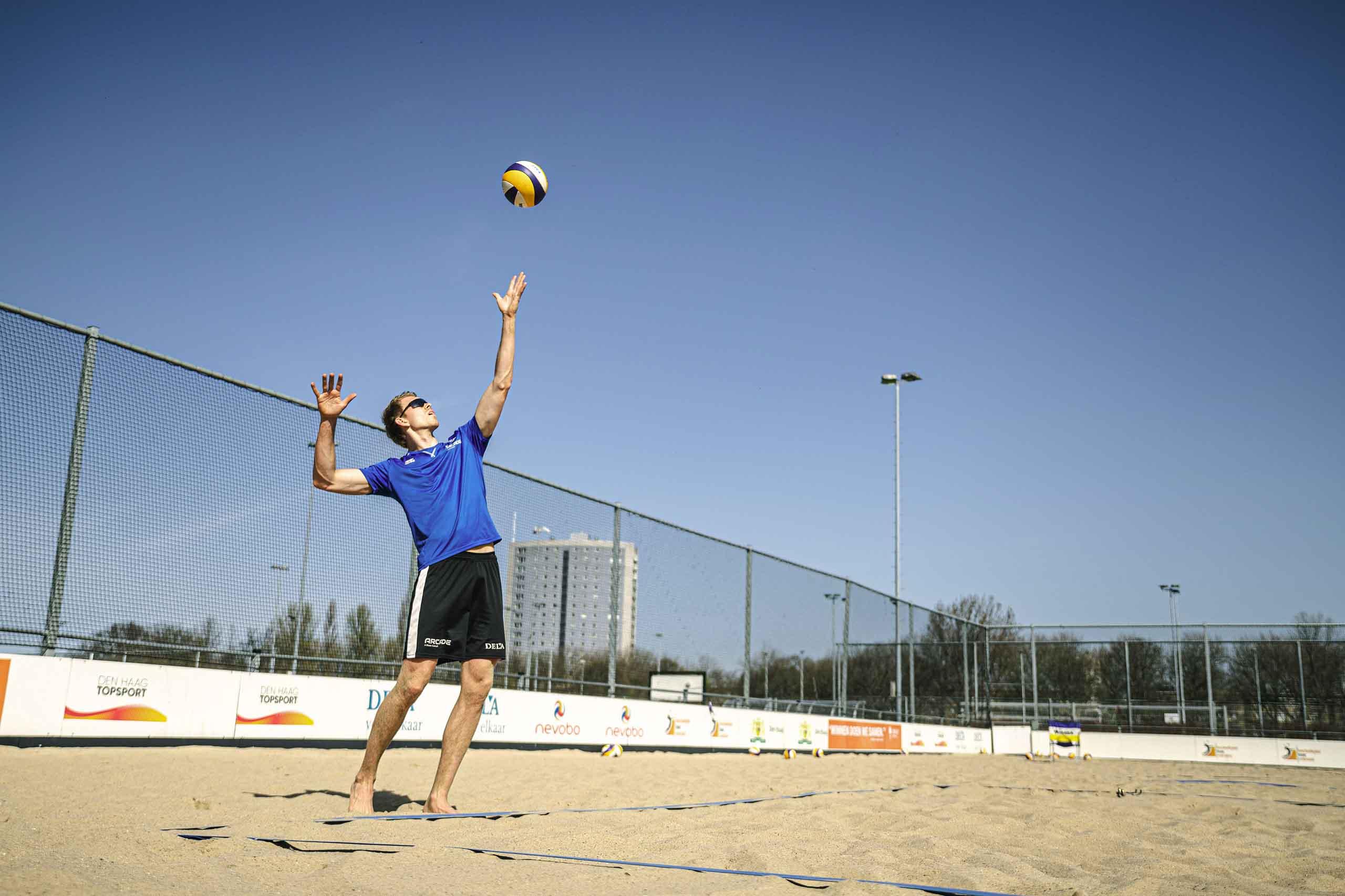 hoeveel wedstrijden beach volleybal