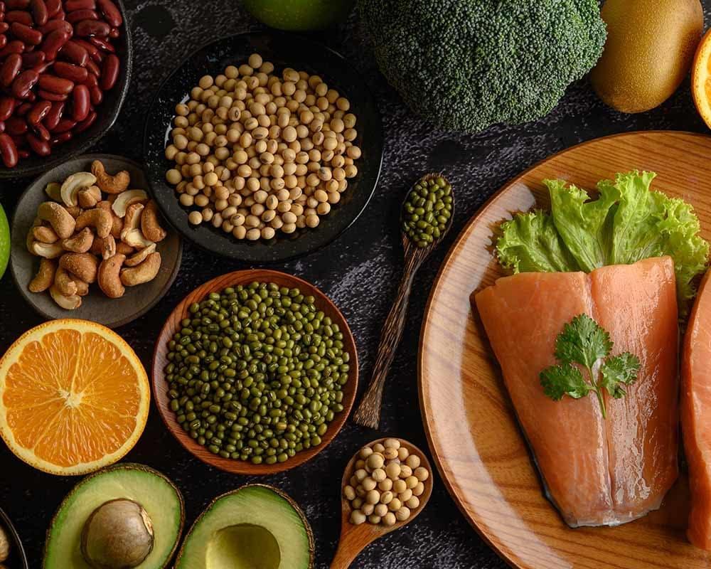 eiwitten eten vrouw