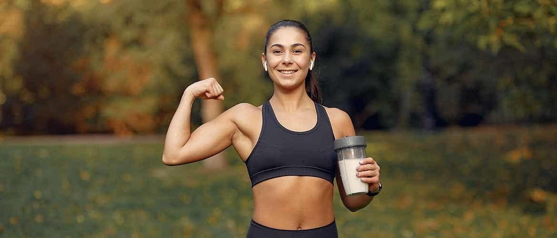 hoeveel eiwitten als vrouw