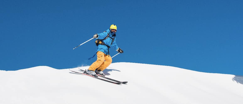 skisnelheid controleren