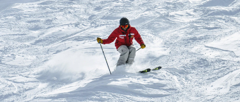versleten ski's
