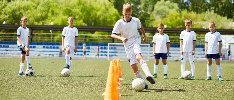 techniektraining jeugdvoetbal
