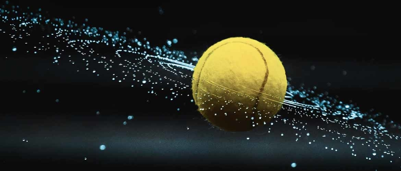 natte tennisballen