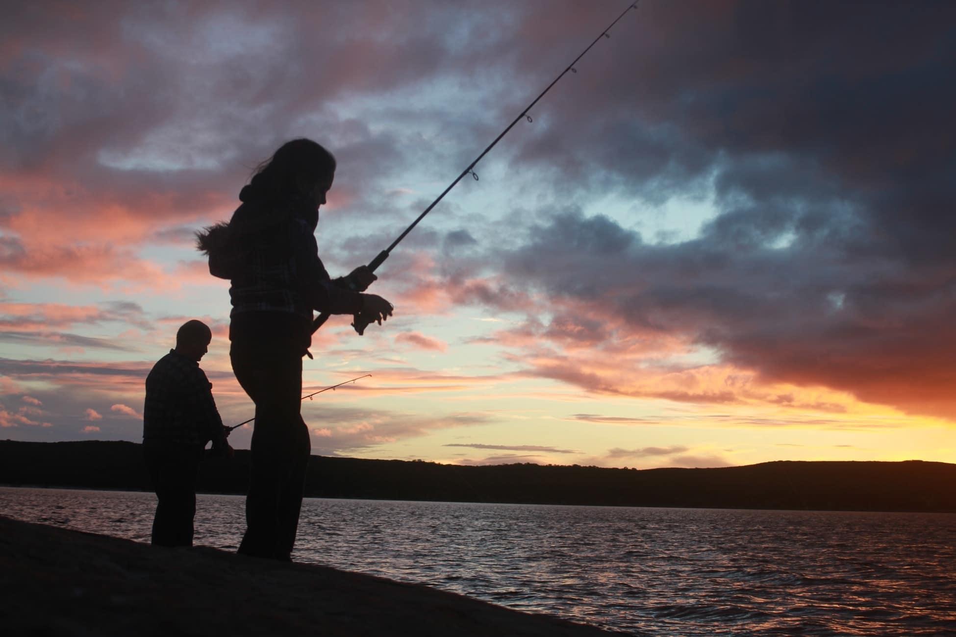 meenemen tijdens vissen