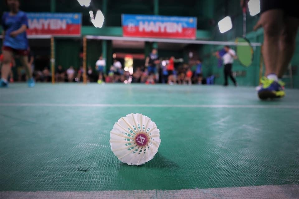hoogte badminton net