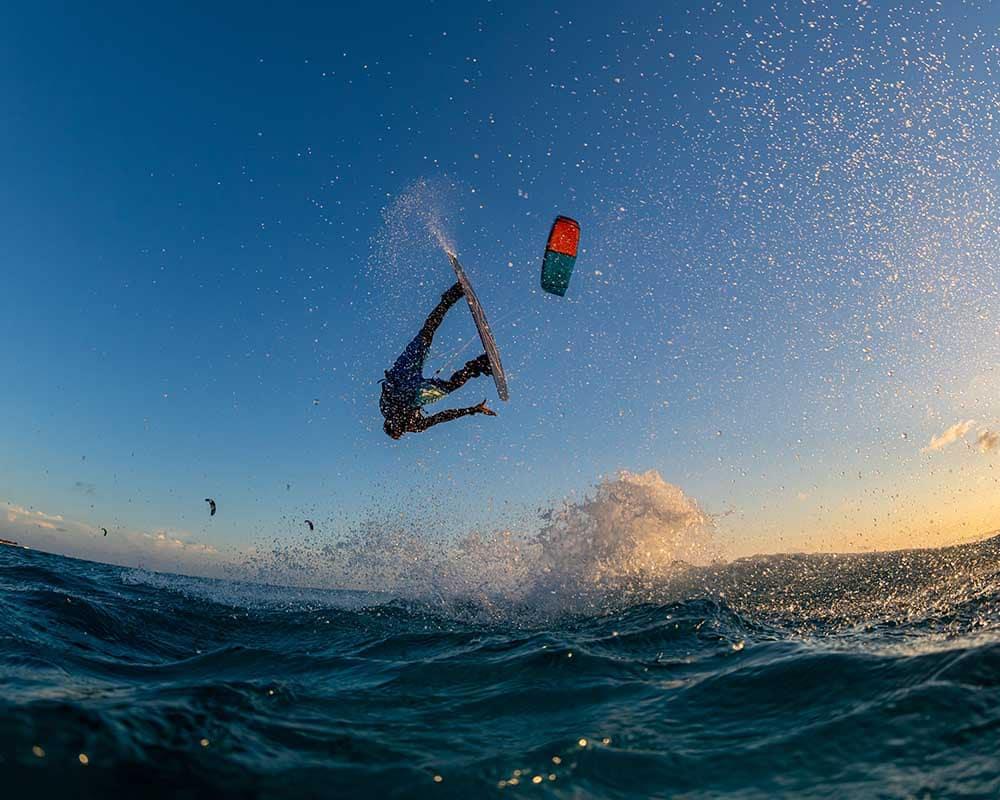disciplines kitesurfen