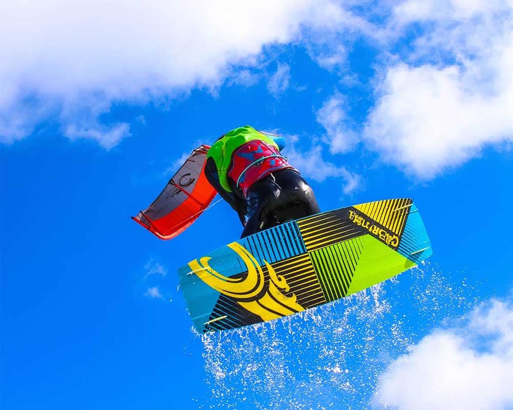 hoogterecord kitesurfen