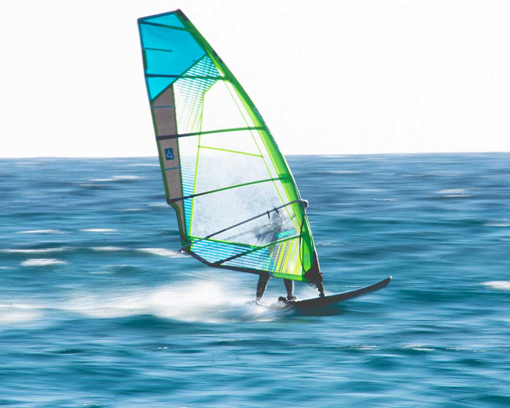 beginners windsurfplank
