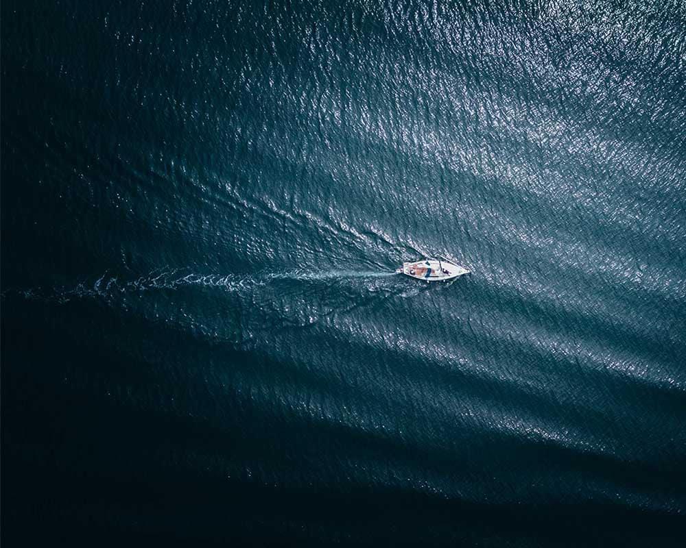 zeilboot besturen